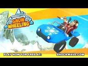 Use tricks in Freestyle SnowWheeling